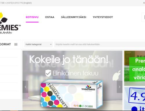 Mustemies.fi soomekeelne e-pood