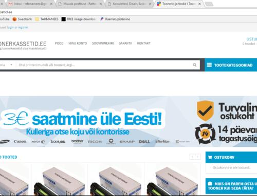 Toonerkassetid.ee e-pood