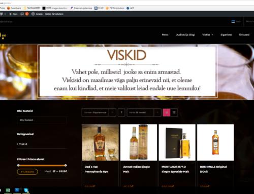 Viskid.ee veebileht